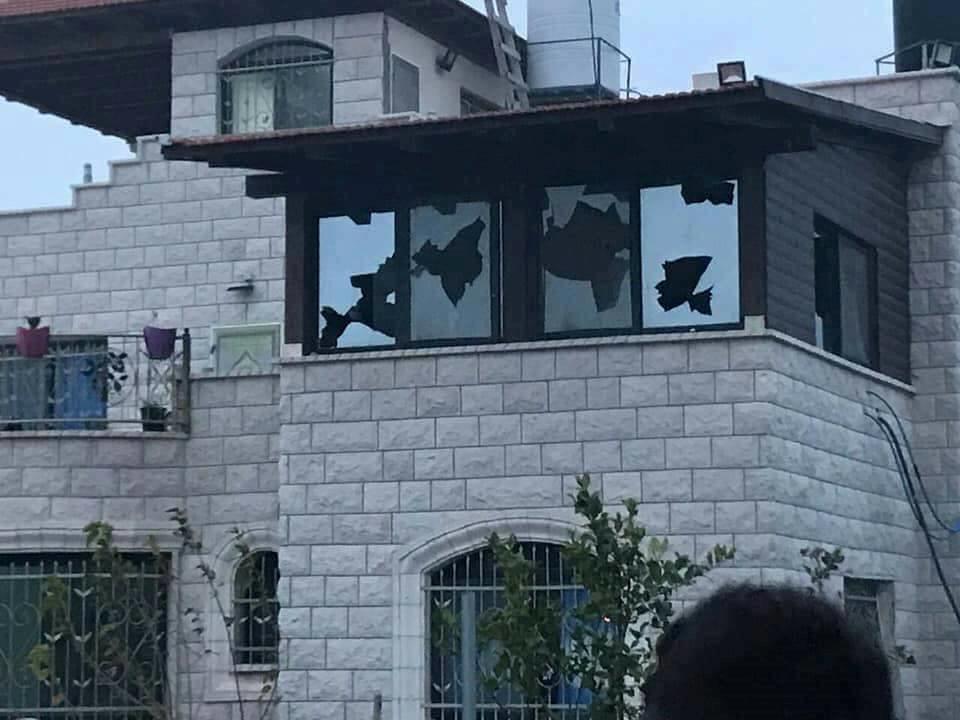 בית בכפר פרעתא אתמול צילום: (זכריא סדה רבנים לזכויות אדם)