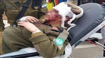 תיעוד ניסיון הלינץ' בג'נין: המון ערבי תקף חיילים וגנב נשק