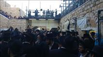 אלפים רקדו במירון לרגל הילולת משה רבינו