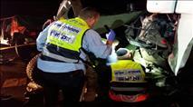 שוחרר נהג המשאית שפגע ברכבי חיילים