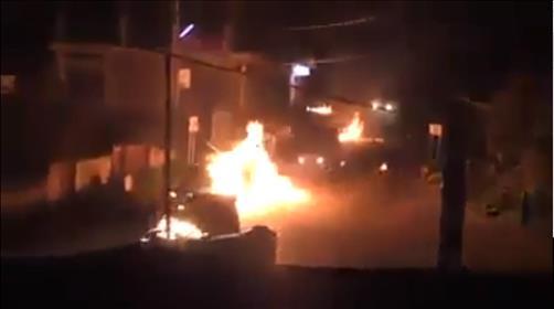 הג'יפים עולים באש