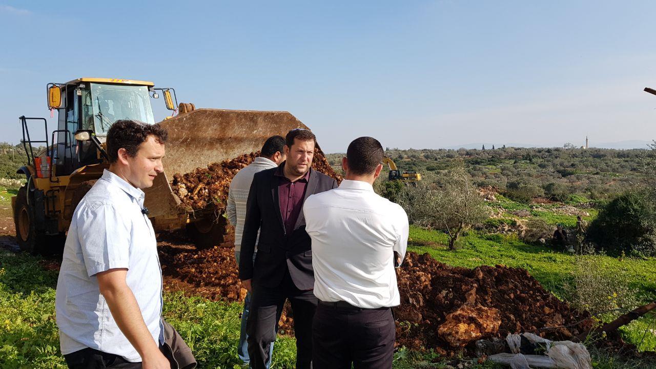 """דגן מונע פרובוקציה ערבית בצפון השומרון לפני מספר שבועות (מוא""""ז שומרון)"""