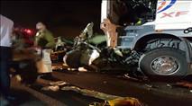 שני הרוגים בתאונה קשה בכביש 6