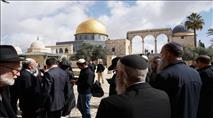 ראש השנה: יהודי תקע בשופר בהר הבית ונעצר