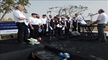 צפו: 1000 איש במעברות הירדן ביום הכניסה לארץ
