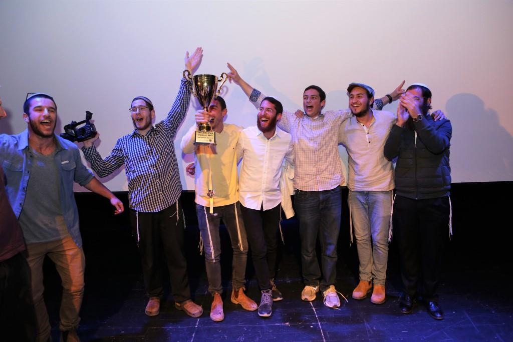 קבלת הפרס (עומר כהן)