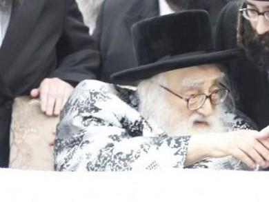 """זקן האדמו""""רים - האדמו""""ר רבי מרדכי הגר מויז'ניץ-מונסי הלך לעולמו"""