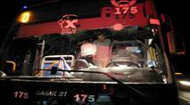 ערבים יידו אבנים על אוטובוס סמוך לצומת גולני