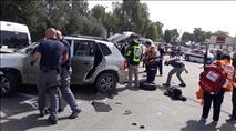 פיגוע דריסה בשומרון: שני נרצחים ושני פצועים קשה