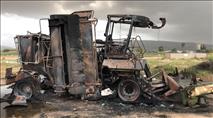 הטרור החקלאי נמשך: בית אריזה הוצת בצפון