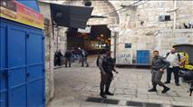 עונש מאסר לערבי שיידה אבן בראשו של יהודי