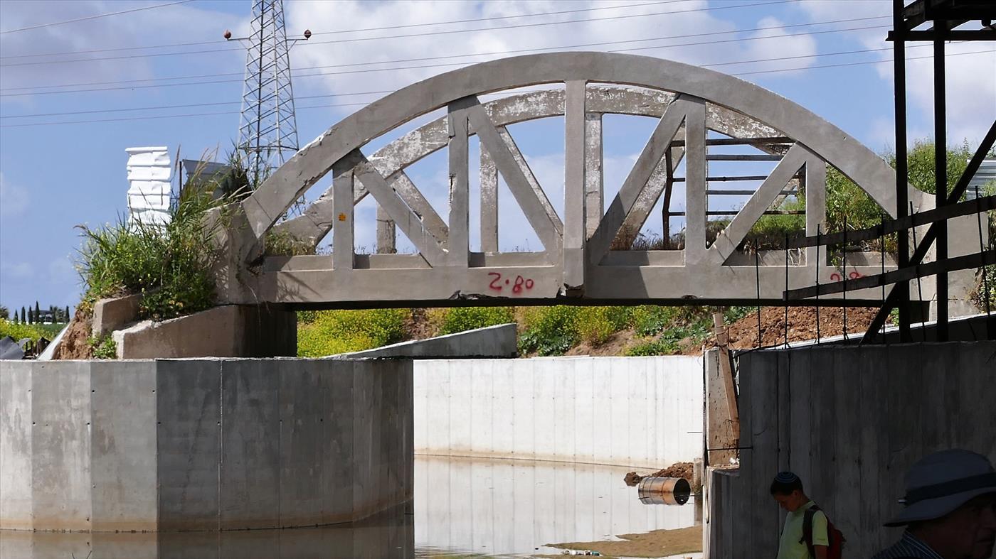 גשר בנחל לכיש (א. אבידור)