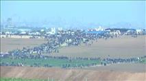 ערבי חמוש נורה הלילה בגבול רצועת עזה