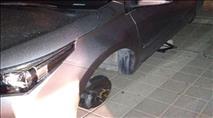 באר שבע: בדואים גנבו גלגלי מכוניות חונות