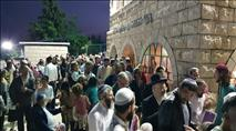 צפו: מאות השתתפו בהילולת רבי יהודה בר אילעי