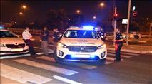 שוטר נפצע מאבן שיידו ערבים בלוד