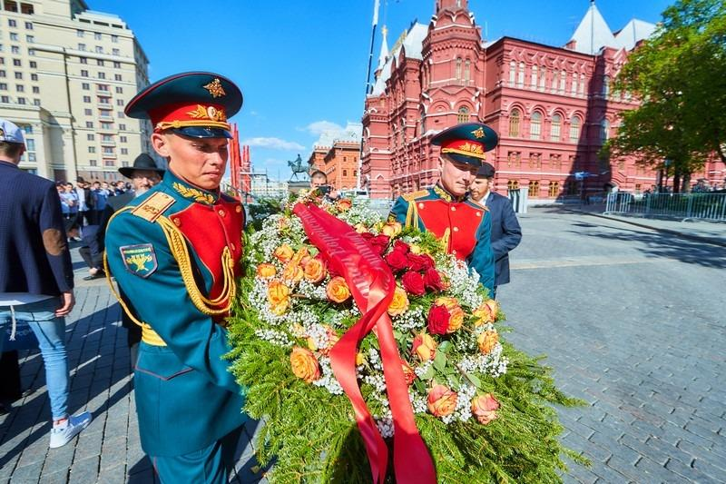 שוטרים רוסים ברחבת הקרמלין. ארכיון (לוי לזרוב)
