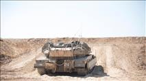 הטנק שירה לעבר רצועת עזה בשגגה: מפקד הטנק נשלח לכלא