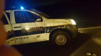 ערבי גנב רכב ופרץ מחסום – שוטר נפצע