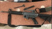 """ערבי פרץ לרכב בנתב""""ג וגנב נשק שטרם אותר"""
