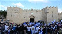 שבועות בירושלים: לא תתאפשר גישה לכותל משער שכם