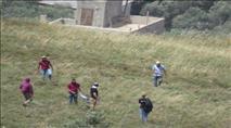 """צפו: המתיישבים התגלו כחיילי צה""""ל והמתפרעים נעצרו"""