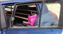 ''הרכב התמלא כולו ברסיסים - ניצלנו בנס''