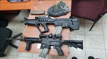חמישה ערבים מכפר קרע גנבו נשק מחיילים