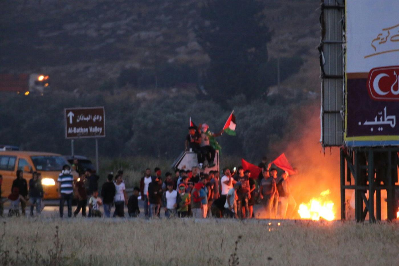 התפרעויות ערבים אמש בכניסה לשכם (עוצמה יהודית)