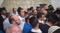 אלפי יהודים נכנסו הלילה לקבר יוסף הצדיק