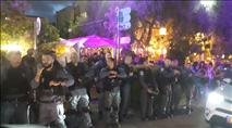 חיפה: מאות ערבים הפגינו הזדהות עם ערביי עזה
