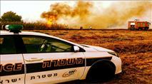 """שבת של שריפות בעוטף עזה - צה""""ל 'מזהיר'"""