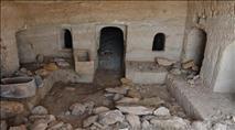 צפו: מערכת קבורה מרשימה נחשפה בטבריה