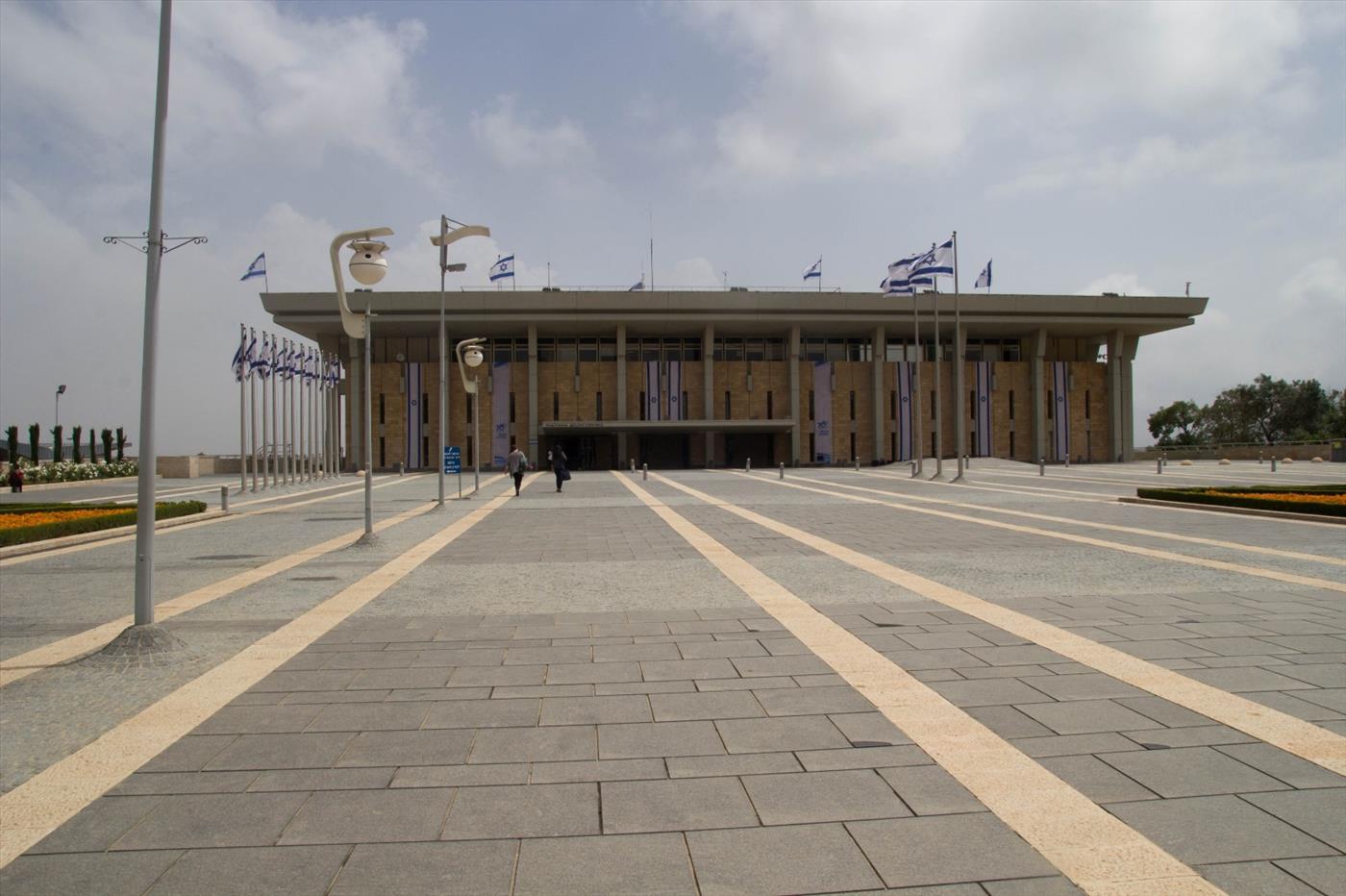 הכנסת  (צילום: יהודה פרל)