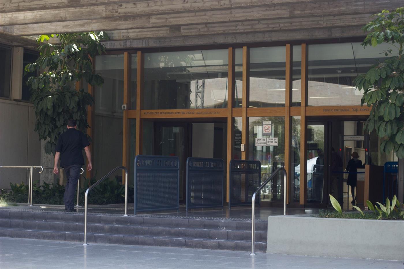 בית המשפט בתל אביב  (צילום: יהודה פרל)
