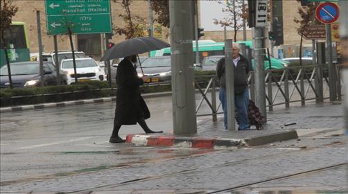 מזג האוויר: גשמים עזים ושלג בחרמון