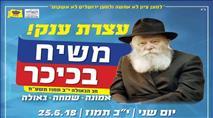 """""""כפייה חילונית"""" - התנגדות לכנס חב""""ד בתל אביב"""