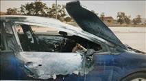 שוחררו בדואים ששרפו רכב לאחר שניסו לגנוב אותו