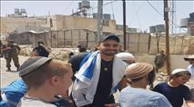 צפו: אלאור אזריה חזר לחברון