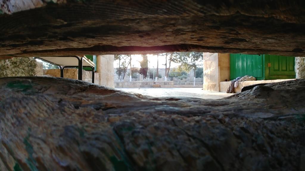 שער הברזל של הר הבית (צילום: אלחנן גרונר)