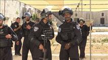 הר הבית: ערבים העלו באש את נקודת המשטרה