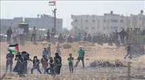 גבול עזה: ערבים תקפו לוחמים במטעני חבלה