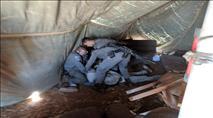 נער נעצר בפינוי אוהל שמירה בגוש שילה
