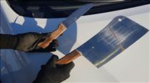 מחבל חמוש בסכינים נתפס בבנימין בדרכו לפיגוע