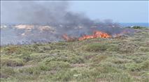 טרור העפיפונים: שריפות משתוללות משעות הבוקר