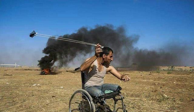 """ערבי מיידה אבנים בגבול עזה (דובר צה""""ל)"""