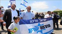 פעילי עוצמה יהודית הגיעו לאום אל פאחם