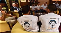 """חברי הלוחמים סירבו לנשיא: """"ערבות הדדית היא הבסיס"""""""