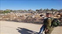 ערבי חמוש בסכין נתפס בכניסה ליישוב אלון מורה