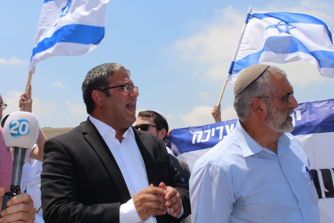 בן גביר ובן ארי באום אל פאחם (עוצמה יהודית)